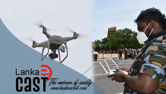 Drone lankaecast