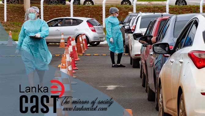 Drive through test lankaecast