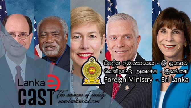 Sri Lanka calls on US House Foreign Affairs lankaecast
